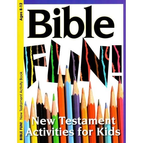 Bible Fun New Testament Activity Book