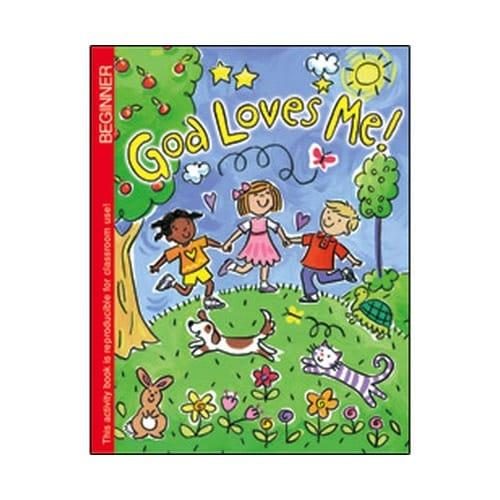 God Loves Me Coloring Book (Pre K)