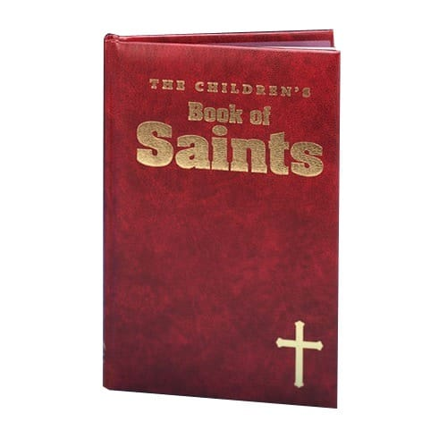 The Children's Book of Saints - Burgundy Gift Edition