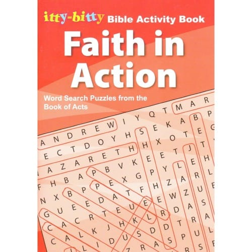 Faith in Action:Word Puzzles from the Book of Acts
