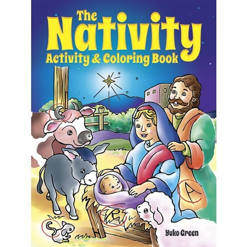 The Nativity: Activity and Coloring Book