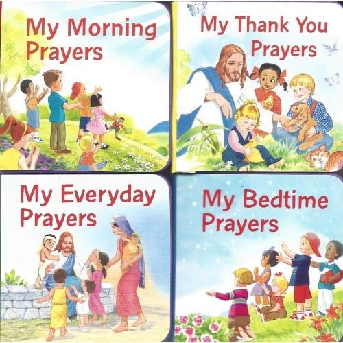 My Catholic Prayer Treasury: Set of 4 Books