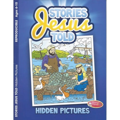 Stories Jesus Told Coloring and Activity Book