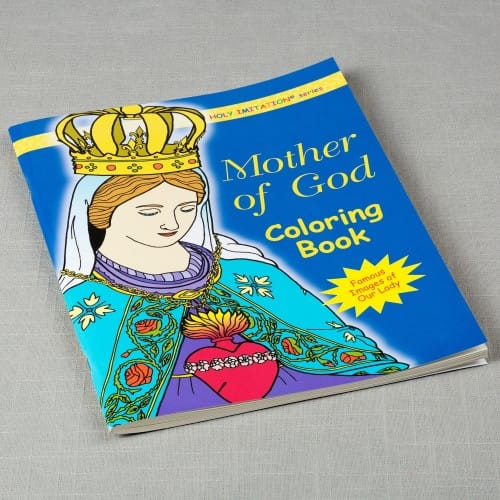 Mother of God Coloring Book by Katherine Sotnik