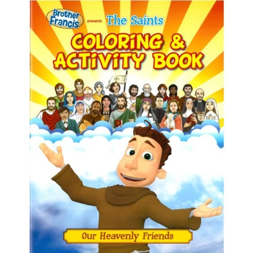 Brother Francis - The Saints Coloring and Activity Book