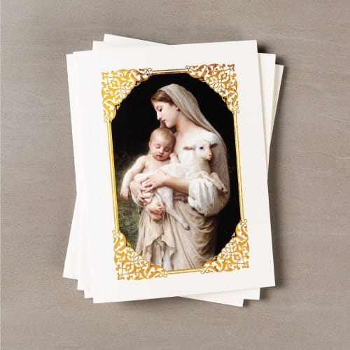 Classic Art Madonna & Child Note Cards - Set of 12