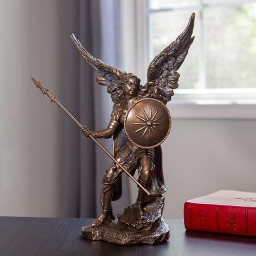 Lucifer Azrael: Archangel Raphael Statue 13.5''