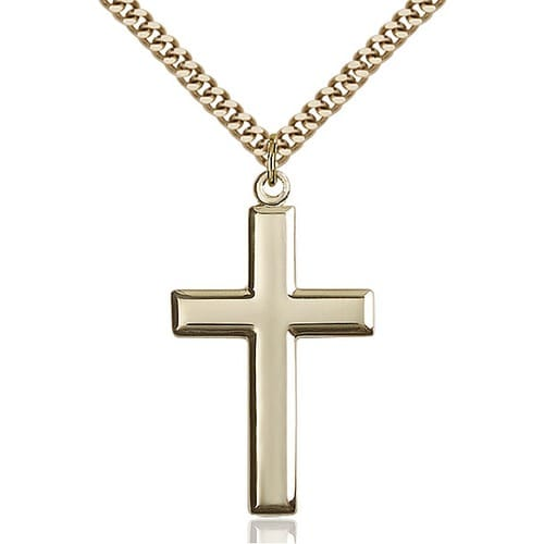 14kt Gold Filled Cross Pendant