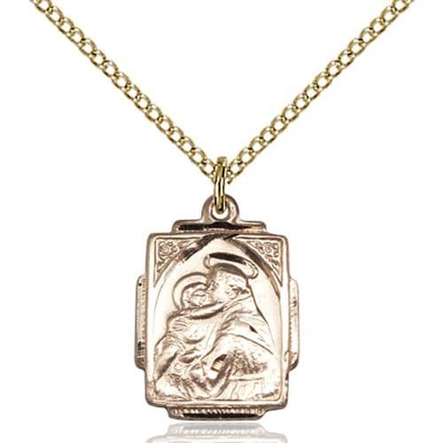 14kt gold filled st anthony pendant the catholic company 14kt gold filled st anthony pendant aloadofball Choice Image