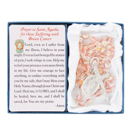 St. Agatha Breast Cancer Rosary