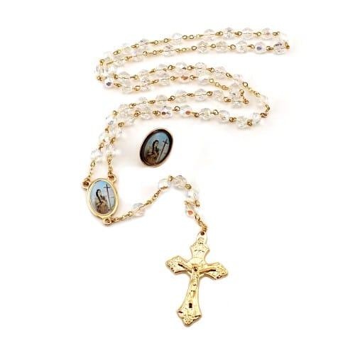 St. Kateri Tekakwitha Rosary & Pin