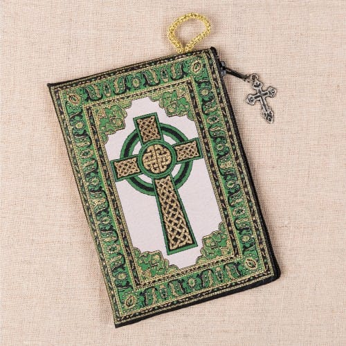 St. Patrick Rosary Pouch