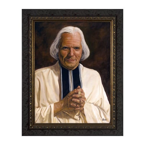 St. John Vianney Framed Print