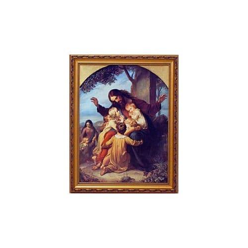 Jesus With Children (Vogel)
