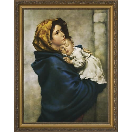 Madonna_of_the_Streets,_Gold_Frame_by_Roberto_Ferruzzi