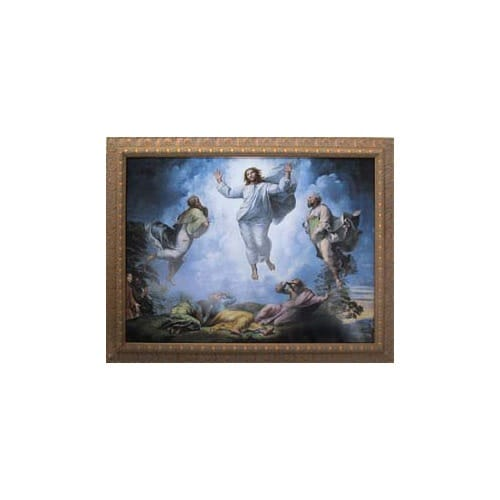 The Transfiguration (Raffaello Sanzio) Framed Print (18x24)