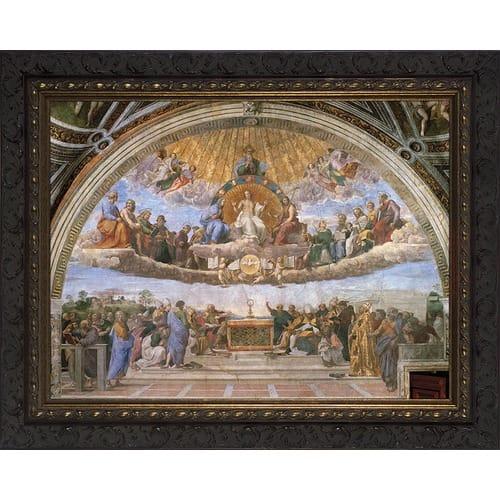 Disputation of the Eucharist (Raphael) 16x20