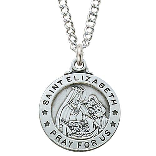 St. Elizabeth Patron Saint Medal