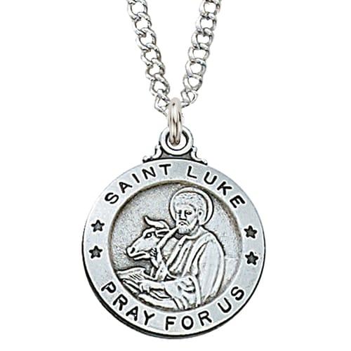 St. Luke Patron Saint Medal