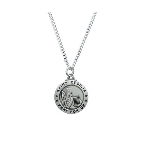 St. Cecilia Patron Saint Medal