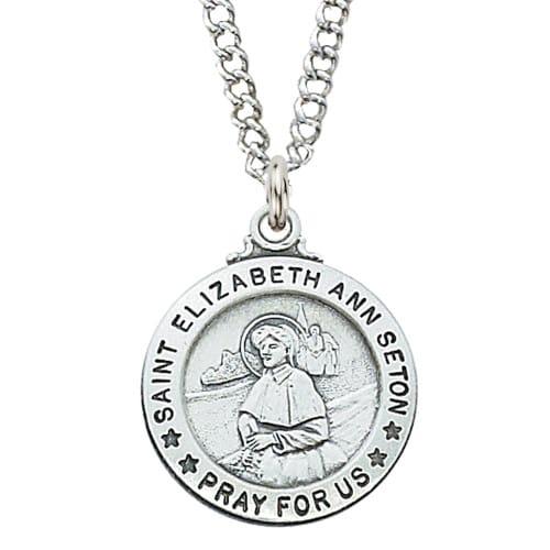 St. Elizabeth Ann Seton Patron Saint Medal