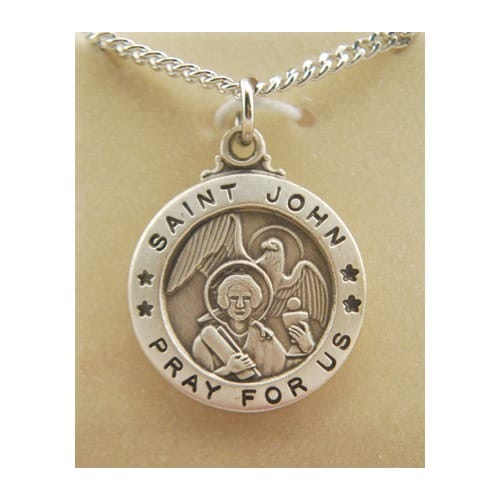 St. John the Evangelist Patron Saint Medal 2003367