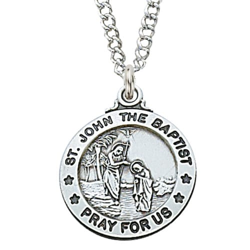 St. John the Baptist Patron Saint Medal