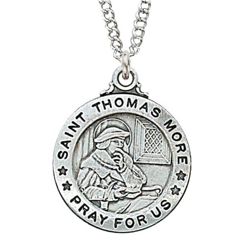 St. Thomas More Patron Saint Medal