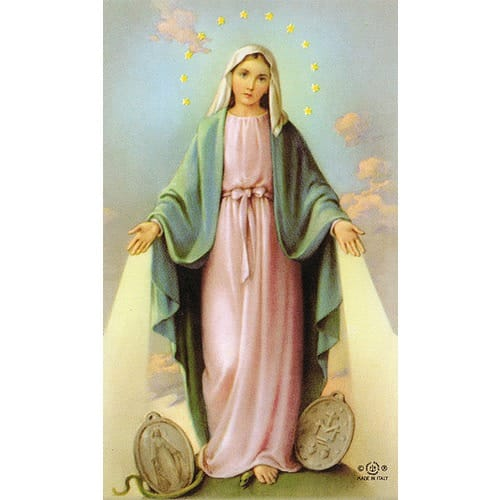 Image result for picture of our lady of the miraculous medal