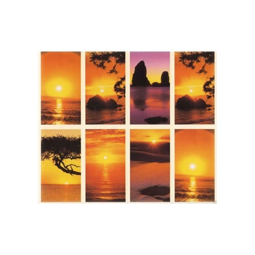 Sunset Personalized Prayer Card (Priced Per Card)