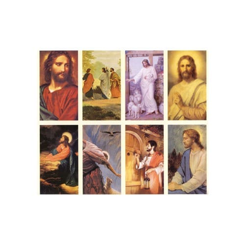 Images of the Lord Personalized Prayer Card (Priced Per Card)