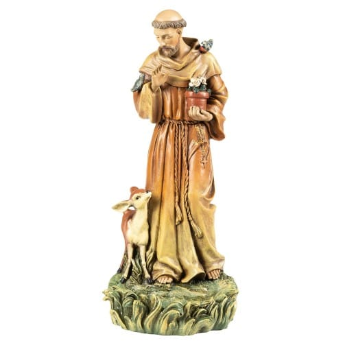 St. Francis Garden Statue Bird Feeder -  Roman Inc, 71250