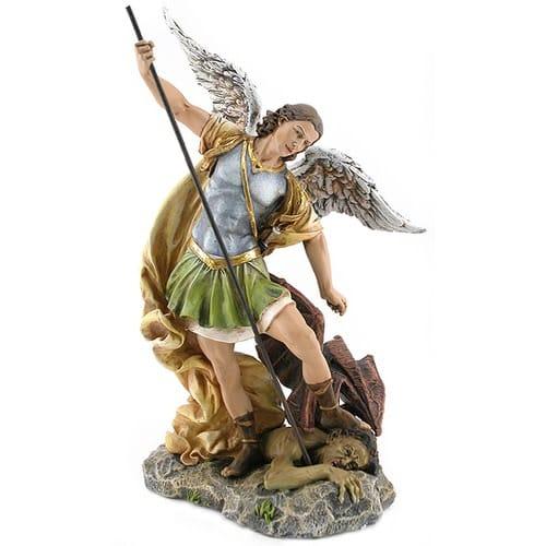 St. Michael Figure - 12 inch