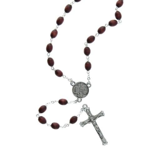 Brown Wood Rosary