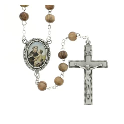 df3448c0d46 Saint Anthony rosaries, medals, necklaces, pendants, bracelets – My ...