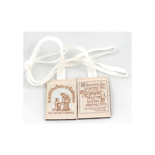Washable Brown Scapular