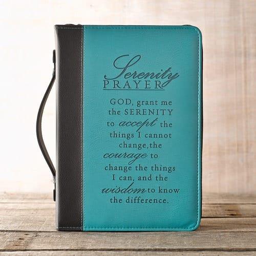 Serenity Prayer Bible Cover