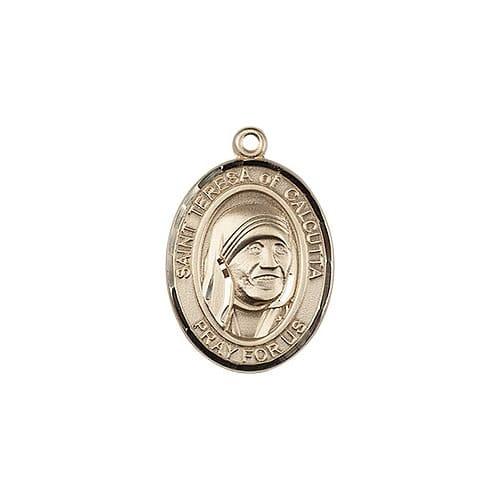 Gold Blessed Teresa of Calcutta Medal - 14KT