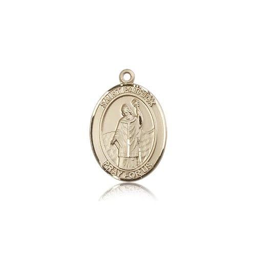 14kt Gold St. Patrick Medal