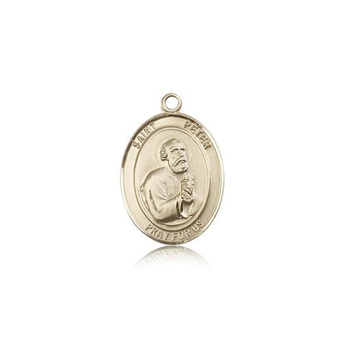 14kt Gold St. Peter the Apostle Medal
