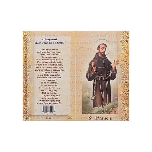St. Francis of Assisi - Mini Lives of the Saints Folded Prayer...