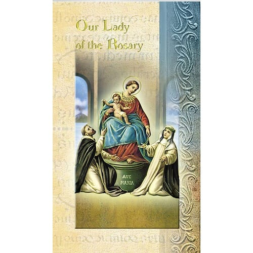 Our Lady of the Rosary (Novena) - Folded Prayer Card