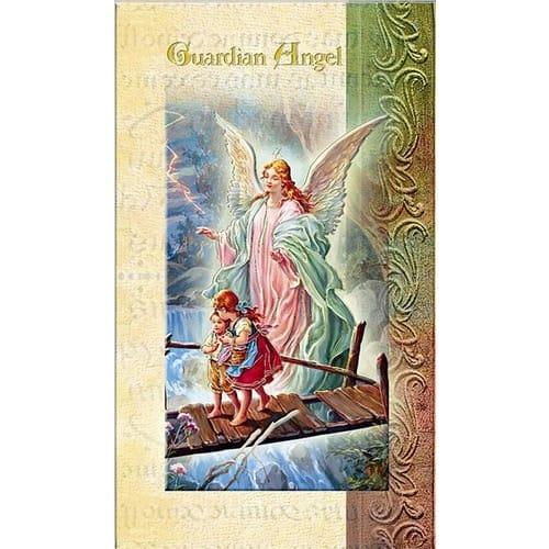 Guardian Angel - Folded Prayer Card