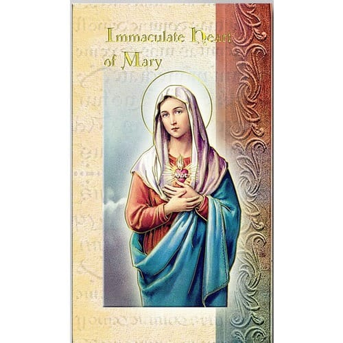 Immaculate Heart of Mary (Novena) - Folded Prayer Card