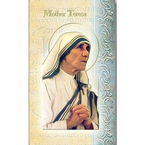 Mother Teresa of Calcutta - Folded Prayer Card