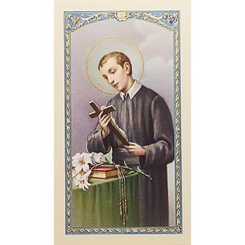 St. Gerard - Prayer for Safe Delivery - Prayer Card