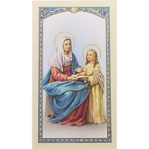 Prayer to St. Anne - Prayer Card