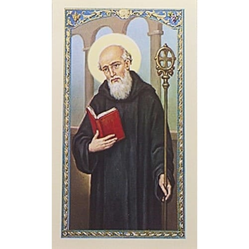 Prayer to St. Benedict - Prayer Card