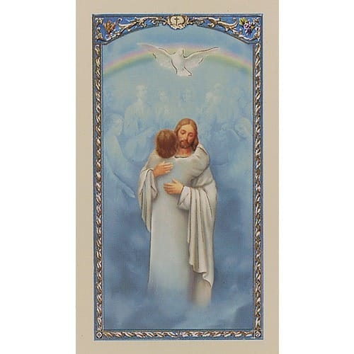 Safely Home Prayer Card