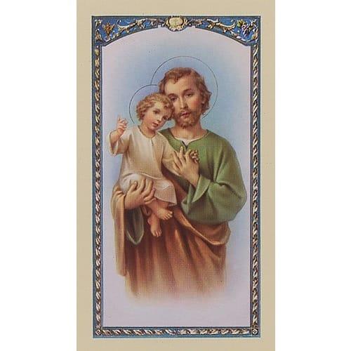 Prayer to St. Joseph - Prayer Card